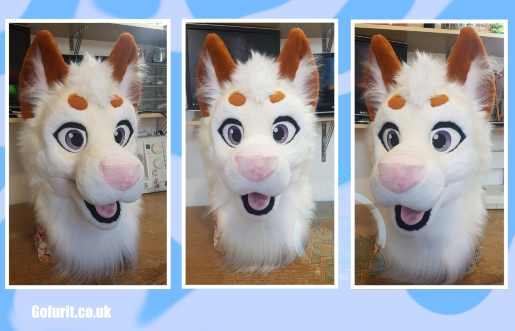 Premade dog - Base by The krafty hyena using a kloofsuits pattern