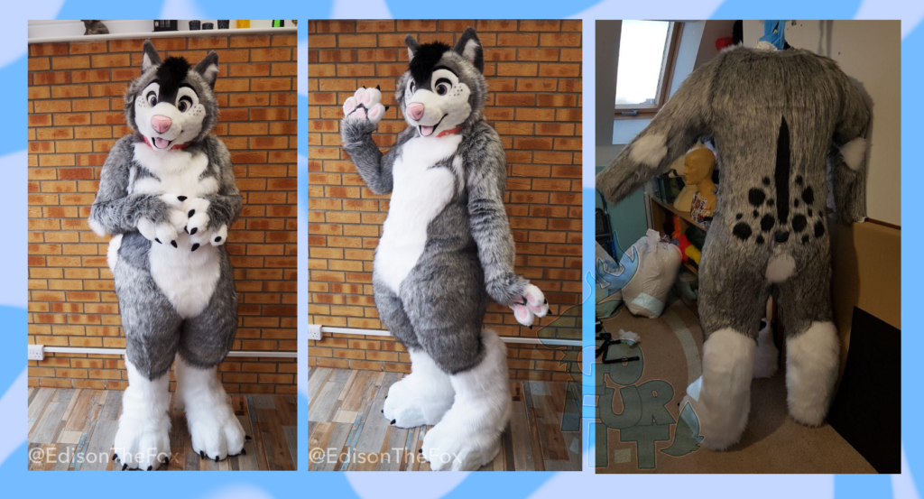 Kevlar Husky - bodysuit and feetpaws upgrade 2020