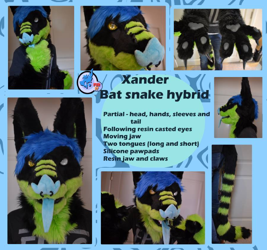 Xander bat snake - Mini partial 2016