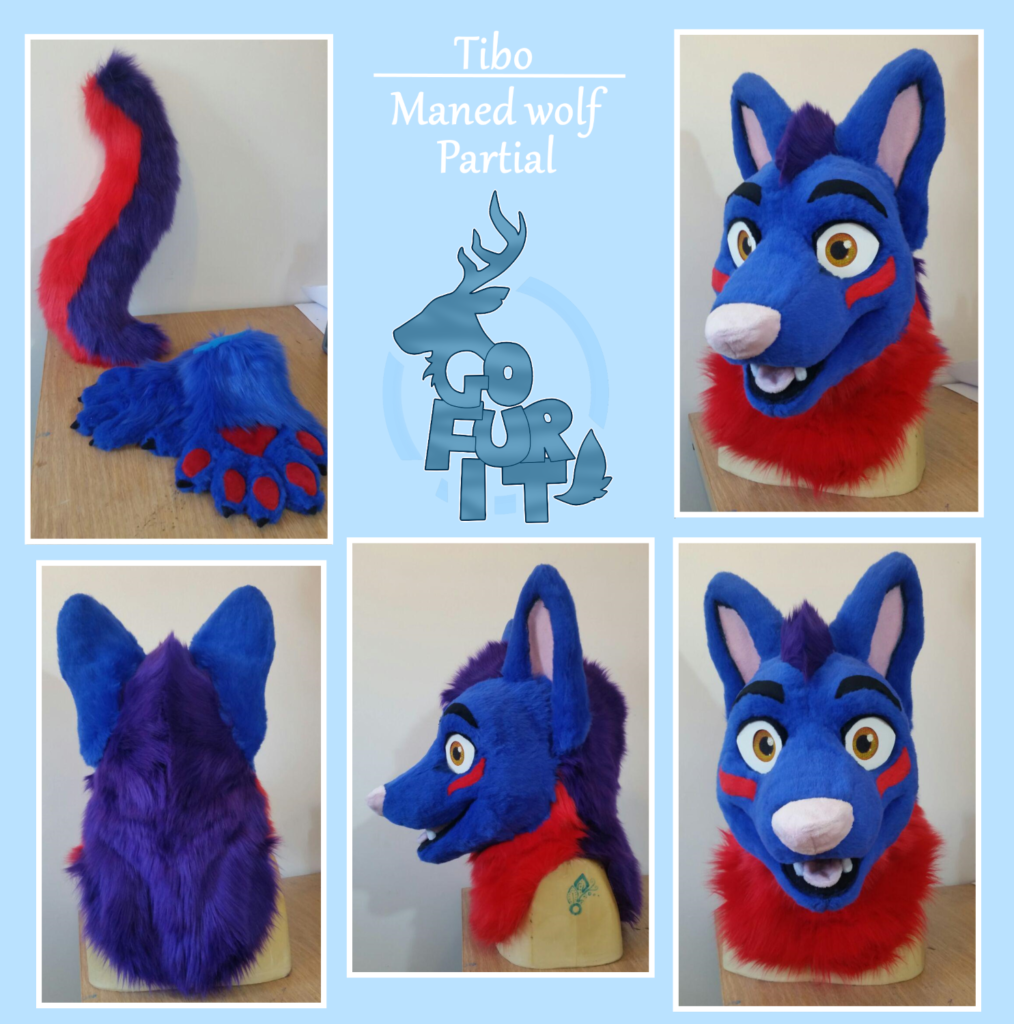 Tibo Maned wolf - Mini partial 2018