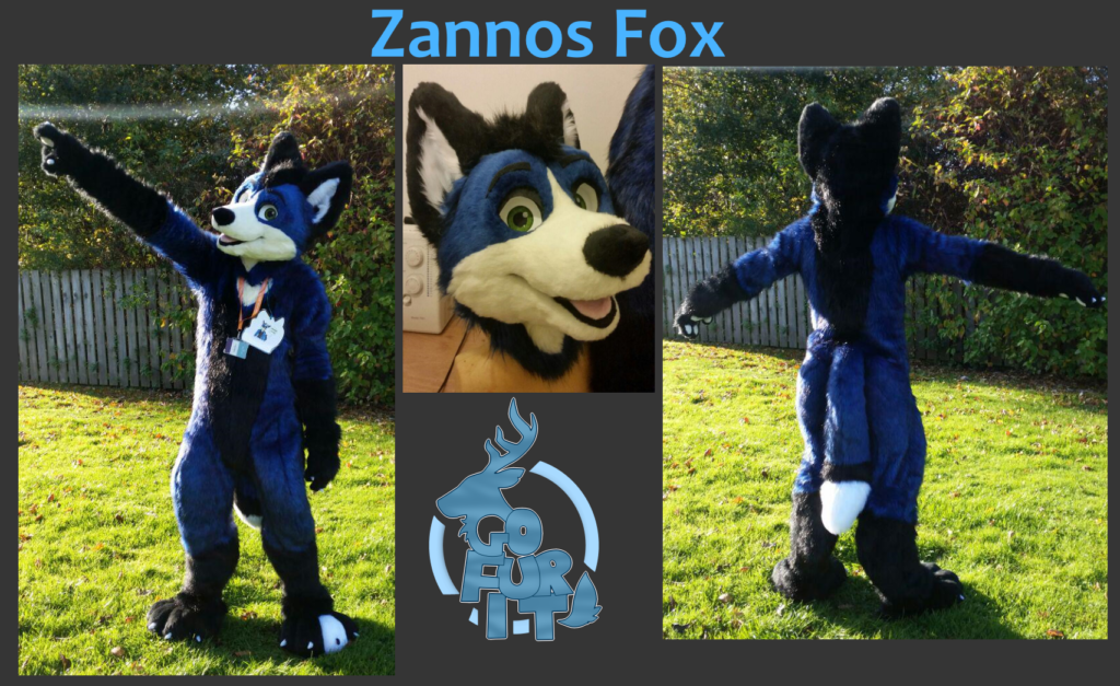 Zannos Fox - Digitigrade fullsuit